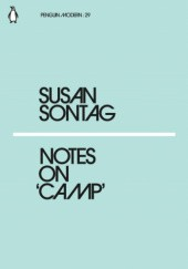 Okładka książki Notes on Camp Susan Sontag