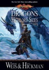 Okładka książki Dragons of the Highlord Skies Tracy Hickman, Margaret Weis