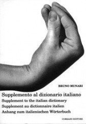 Okładka książki Supplement to the italian dictionary Bruno Munari
