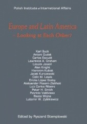 Okładka książki Europe and Latin America - Looking at Each Other? Ryszard Stemplowski