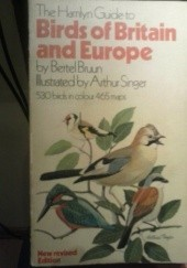 Okładka książki The Hamlyn Guide to Birds of Britain and Europe Bertel Bruun
