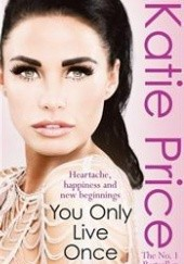 Okładka książki You Only Live Once Katie Price
