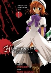 Okładka książki Higurashi When They Cry, Volume 1 Ryukishi07, Karin Suzuragi