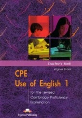 Okładka książki CPE Use of English 1 Virginia Evans