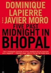 Okładka książki Five Past Midnight in Bhopal Dominique Lapierre