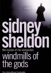 Okładka książki Windmills of the gods Sidney Sheldon