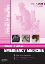 Okładka książki Saunders Solutions in Veterinary Practice: Small Animal Emergency Medicine Shailen Jasani