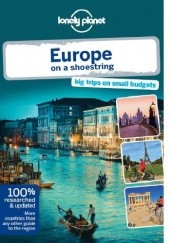 Okładka książki Lonely Planet Europe on a shoestring Tom Masters