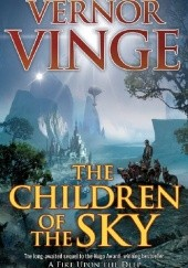 Okładka książki The Children of the Sky Vernor Vinge