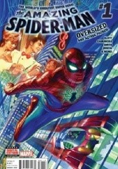 Okładka książki Amazing Spider-Man Vol 4 #1 - Worldwide David Baldeon, Giuseppe Camuncoli, Mike Costa, Peter David, Paco Diaz, Christos Gage, Anthony Holden, Dennis Hopeless, Stacey Lee, Javier Rodriguez, William Sliney, Dan Slott, Robbie Thompson