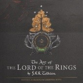 Okładka książki The Art of the Lord of the Rings by J.R.R. Tolkien Wayne G. Hammond, Christina Scull