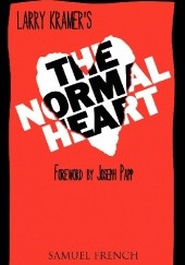 Okładka książki The Normal Heart Larry Kramer