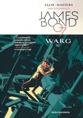 Okładka książki James Bond 007. Warg Warren Ellis, Jason Masters