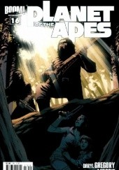 Okładka książki Planet of the Apes #16 - The Half Man, Part 4 Daryl Gregory, Carlos Magno