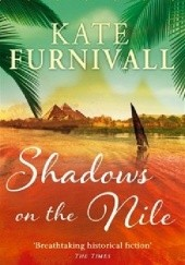Okładka książki Shadows on the Nile Kate Furnivall
