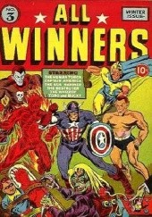 Okładka książki All Winners Comics #3 Carl Burgos, Stan Lee