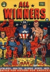 Okładka książki All Winners Comics #4 Carl Burgos, Bill Everett