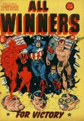 Okładka książki All Winners Comics #6 Al Avison, Bill Everett