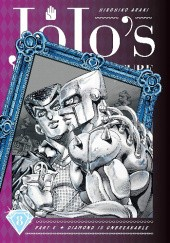 Okładka książki Diamond is Unbreakable vol. 8 Hirohiko Araki