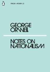 Okładka książki Notes on Nationalism George Orwell