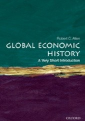 Okładka książki Global Economic History Robert C. Allen