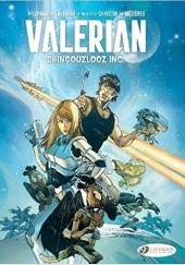 Okładka książki Valerian and Laureline: Shingouzlooz Inc. Mathieu Lauffray, Wilfrid Lupano