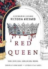 Okładka książki Red Queen: The Official Coloring Book Victoria Aveyard