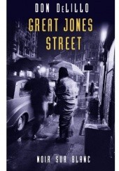 Okładka książki Great Jones Street Don DeLillo