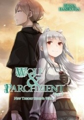 Okładka książki Wolf and Parchment (novel) vol. 3 Isuna Hasekura