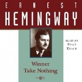 Okładka książki Winner Take Nothing Ernest Hemingway