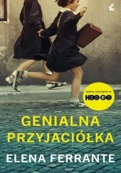 Okładka książki Genialna przyjaciółka Elena Ferrante