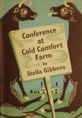 Okładka książki Conference at Cold Comfort Farm Stella Gibbons