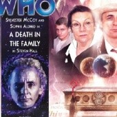 Okładka książki Doctor Who: A Death in the Family Steven Hall