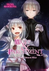 Okładka książki Wolf and Parchment (novel) vol. 4 Isuna Hasekura