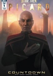 Okładka książki Star Trek Picard - Countdown #1 Mike Johnson