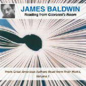 Okładka książki James Baldwin Reading From Giovannis Room James Baldwin