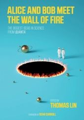 Okładka książki Alice and Bob Meet the Wall of Fire: The Biggest Ideas in Science from Quanta Thomas Lin