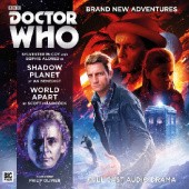 Okładka książki Doctor Who: Shadow Planet / World Apart A.K. Benedict, Scott Handcock
