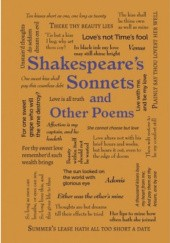 Okładka książki Shakespeares Sonnets and Other Poems William Shakespeare