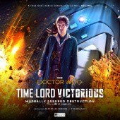 Okładka książki Doctor Who - Time Lord Victorious: Mutually Assured Destruction Lizzie Hopley
