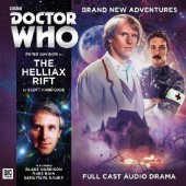 Okładka książki Doctor Who: The Helliax Rift Scott Handcock