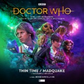 Okładka książki Doctor Who: Thin Time / Madquake Dan Abnett, Guy Adams