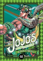 Okładka książki JoJos Bizarre Adventure: Part 2 - Battle Tendency, Tom 2 Hirohiko Araki