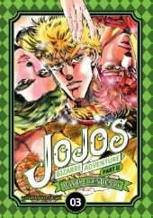 Okładka książki JoJos Bizarre Adventure: Part 2 - Battle Tendency, Tom 3 Hirohiko Araki