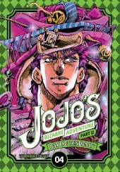 Okładka książki JoJos Bizarre Adventure: Part 2 - Battle Tendency, Tom 4 Hirohiko Araki