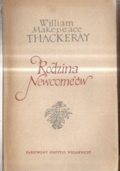 Okładka książki Rodzina Newcomeów tom 1 William Makepeace Thackeray